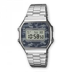 Reloj Casio plateado mimetizado
