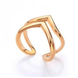 Anillo metal dorado Viceroy 3178A01812