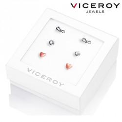 Pack Pendientes Viceroy Jewels 3210K09019 plata de ley
