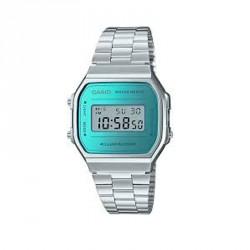 Reloj Casio plateado A168WEM-2EF