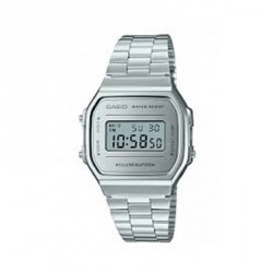 Reloj Casio plateado A168WEM-7EF