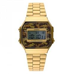 Reloj Casio dorado mimetizado A168WEGC-5EF