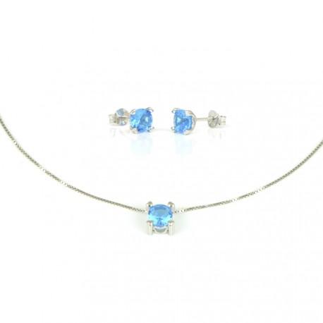 2633c47dddb8 gargantilla-de-plata-con-pendientes-piedra-azul