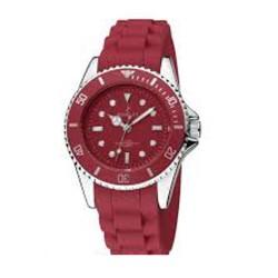 Reloj NOWLEY analogico señora correa de silicona roja  8-5247-0-14