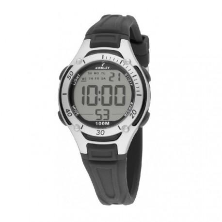 Reloj NOWLEY digital cadete correa de caucho negro  8-6209-0-4