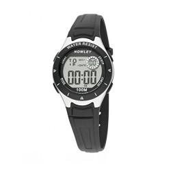 Rellotge NOWLEY digital cadet corretja de cautxú negre 8-6177-0-4