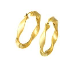 Pendientes oro  amarillo18 kts aro