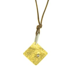 Gargantilla oro amarillo 18kts cordón