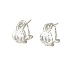 pendientes de plata circonitas
