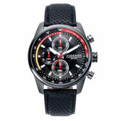 Reloj Viceroy 46671-57 de hombre NEW con caja de acero y correa de piel Cronograph