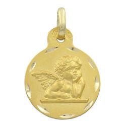 Colgante de oro 18 kts angelito