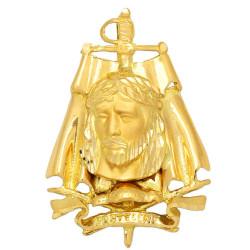Colgante de oro 18 kts cristo de los toreros