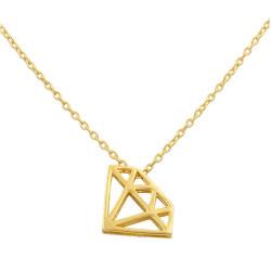 Gargantilla oro amarillo 18kts Diamante