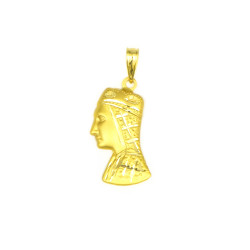 Medalla de oro 18 kts virgen de Montserrat