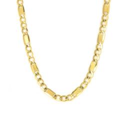 Cadena de oro 18 kts tipo Cartier semi maciza