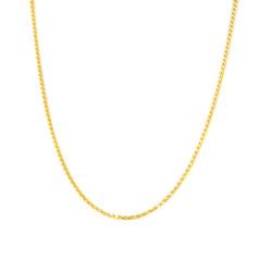 Cordón de oro 18 kts  macizo 1.3 milímetros