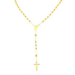 Gargantilla rosario oro 18kts