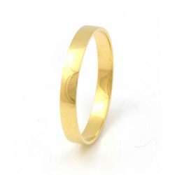 Alianza de oro 18 kts amarillo